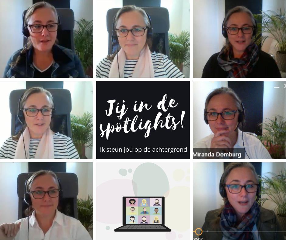 Dantimee Miranda Domburg faciliteren webinars